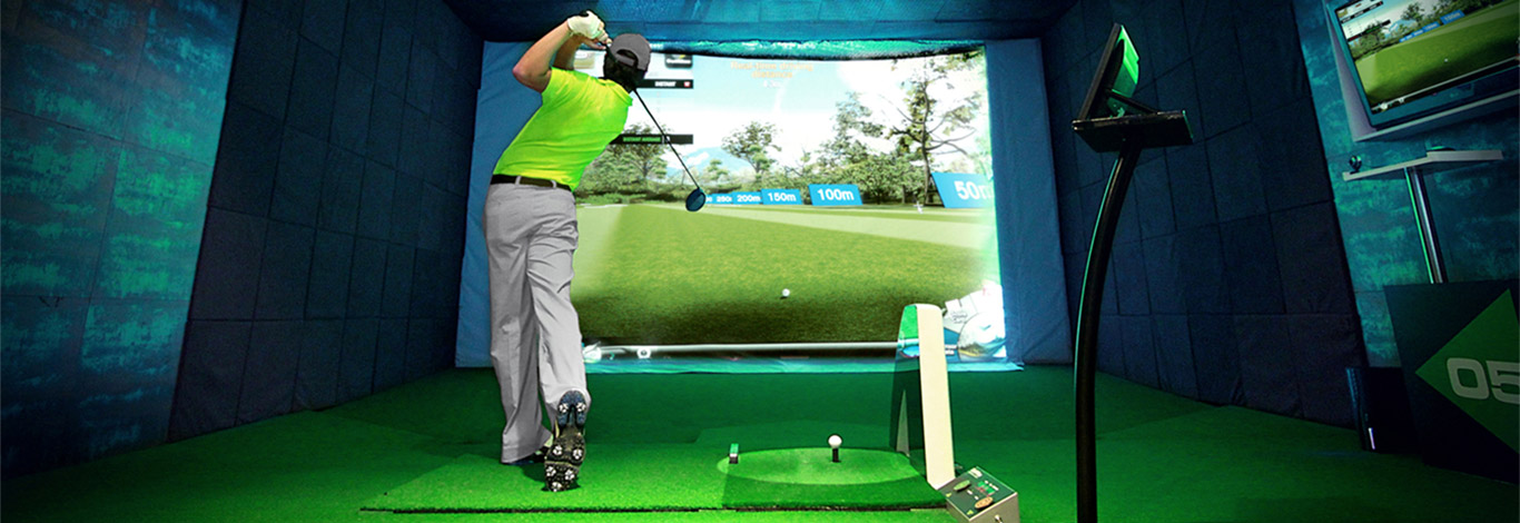 Golf Simulator banner