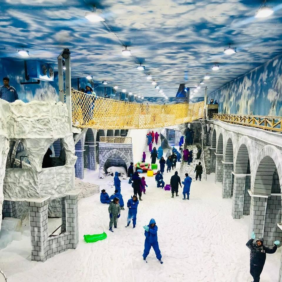 Icy Slopes and Frozen Rides— Snow Mastiii Opens at Greater Noida